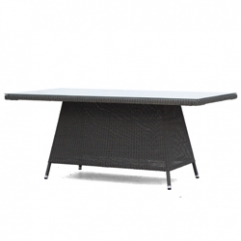 Valerian Rect Table - Core Single2 - Sea Grey