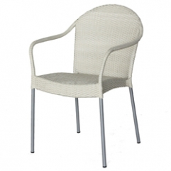Nantes Arm Chair - Peel 6mm - White Wash