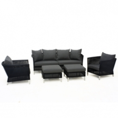 Thyme Living Set - Core Single 2 - Charcoal Black